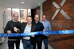 Flexera Executives Cut Ribbon to Data Platform Centre of Excellence in Belfast