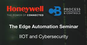 The Edge Automation Seminar - IIOT and Cybersecurity
