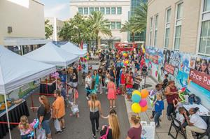 Church of Scientology Block Party in Downtown Clearwater