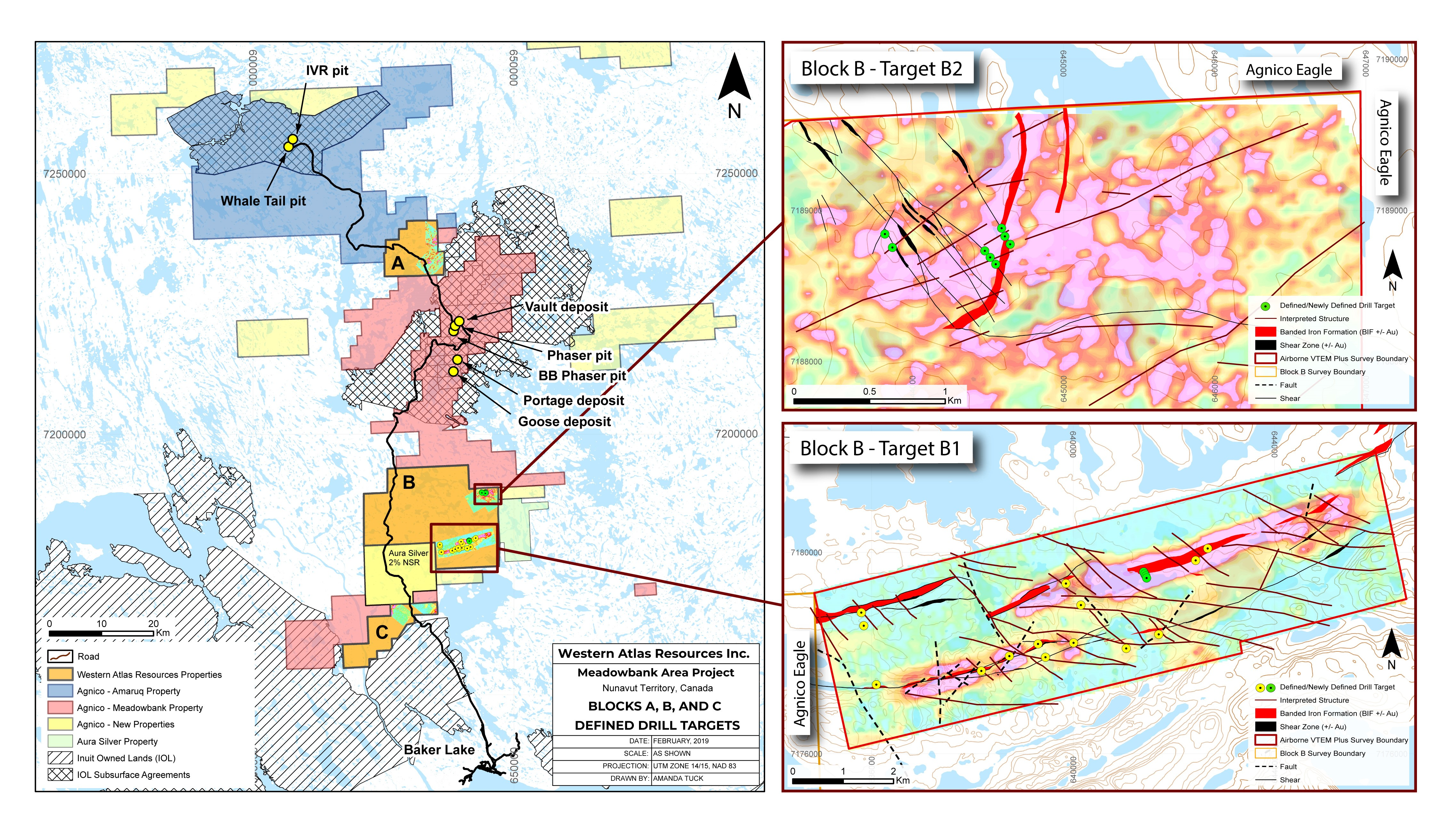 Western Atlas Resources announces the definition of additional drill on