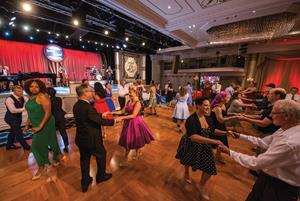 Swing Dance at the Fort Harrison