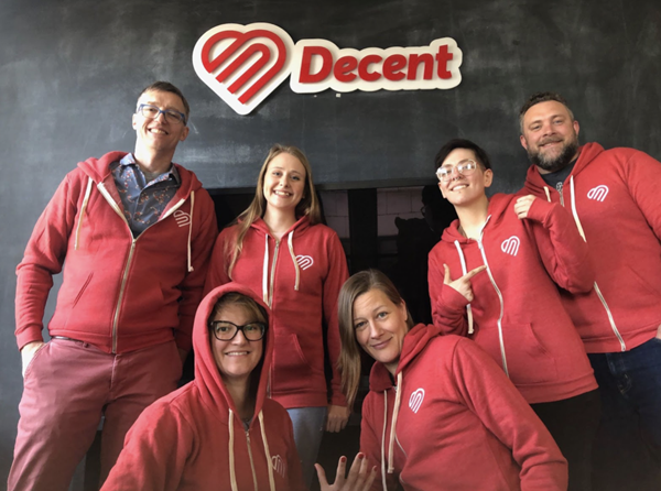 Health insurance start-up, Decent, is named to Inc. magazine's annual list of 2021 Best Workplaces.