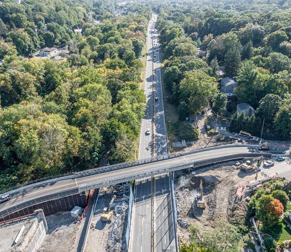Acrow Bridge in Westchester County, New York
