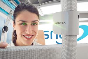 Gentex Iris Scanning Module on Rinspeed Snap