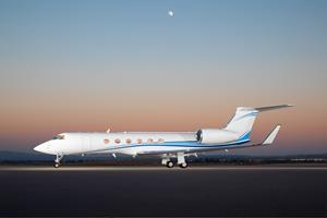Silver Air GV Now Available for Charter