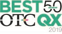 Patriot One Named to 2019 OTCQX Best 50 TSX Venture Exchange:PAT