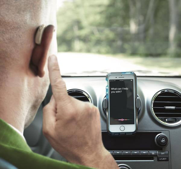 With Paradise hearing aids, consumers can have hands-free conversations while connecting with popular voice assistants like Siri®, Google Assistant™ or Amazon Alexa® via a double tap of their ear.