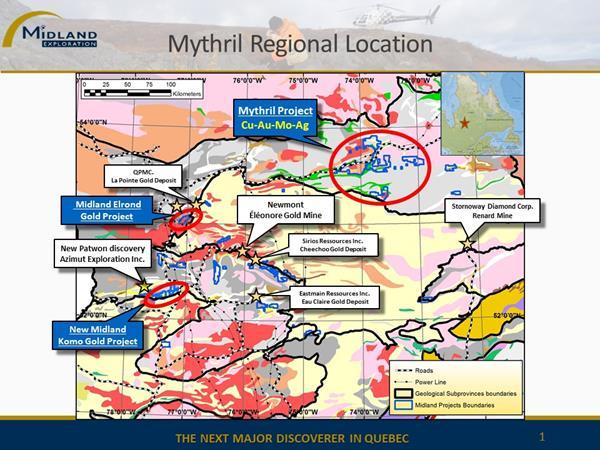Figure 1 Mythril regional location
