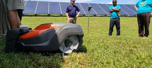 SLR-Husqvarna Automower® deployed at Tennessee solar project