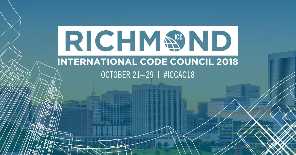 The 2018 International Code Council Annual Conference begins this