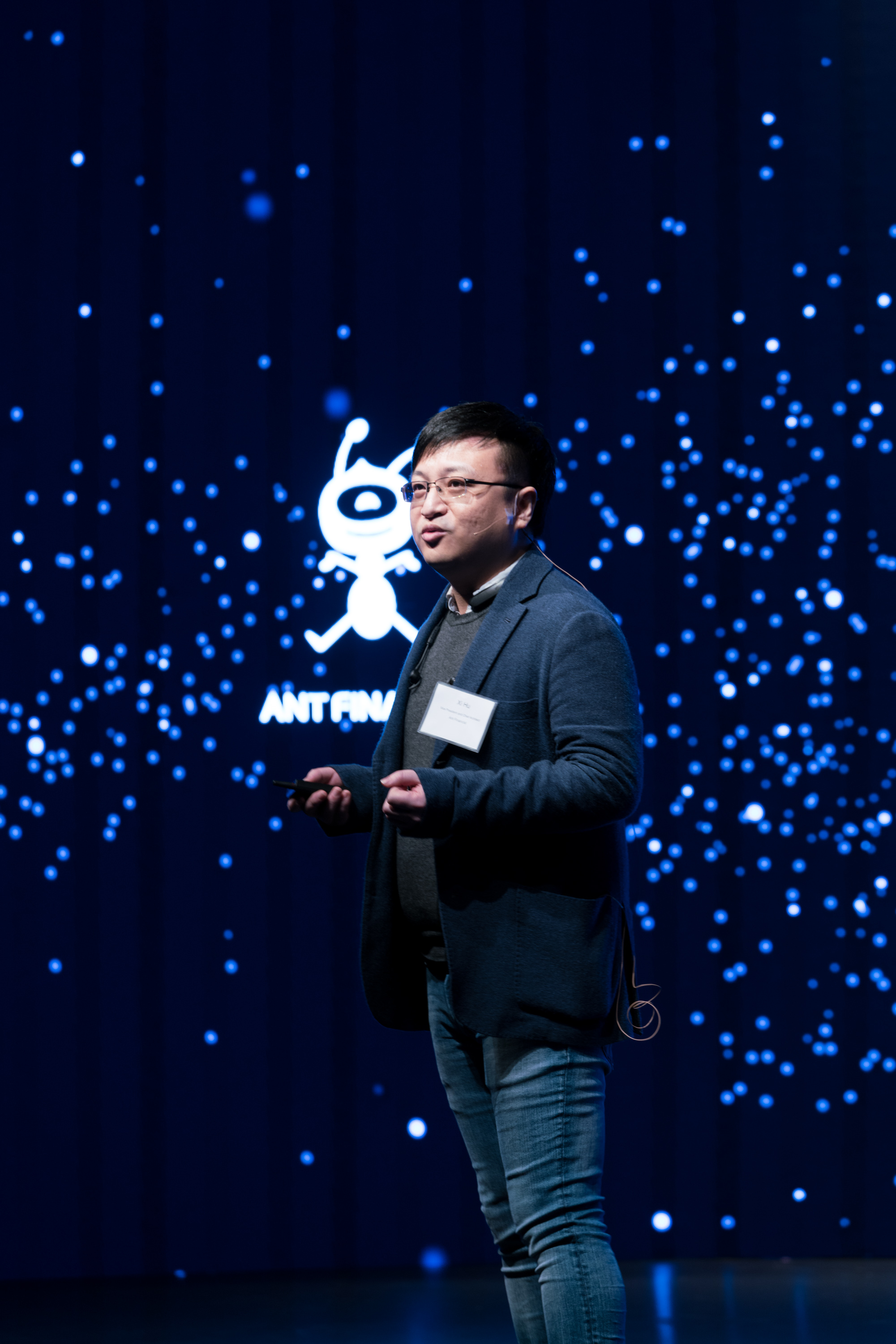 Vice President and Chief Architect of Ant Financial at ATEC