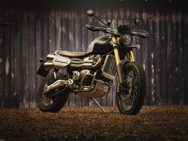 2022 Triumph Motorcycles Steve McQueen Edition Scrambler