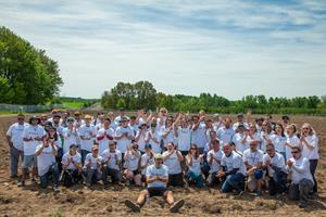 PHOTOS: Aleafia Health Completes Planting of Canada's First Legal