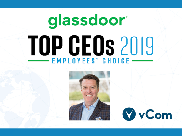 Glassdoor Top 50 CEO vCom Gary Storm
