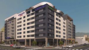SpringHill Suites Element Exterior Renderings