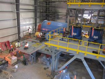 Installation of the Ball Mill Begins - 2