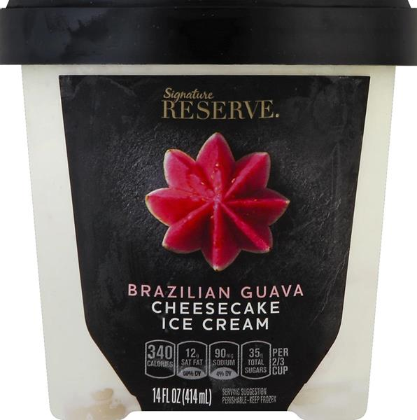 The initial launch of Signature Reserve is in ice cream, including Brazilian Guava Cheesecake, Madagascar Vanilla, Colombian Cold Brew Caramel, Bourbon Maple Blondie, Indian Cardamom Pistachio, Caramel Apple Chai, and Belgian Chocolate Almond.