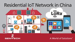 Semtech LoRa Technology Enables IoT Services in China's Largest Private Telecom Network