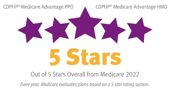 CDPHP Medicare Star Ratings 2022