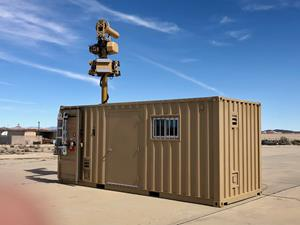 Containerized AUDS (C-AUDS) a Layered Counter UAS Solution to  Detect, Track, Identify and Defeat Malicious Threats