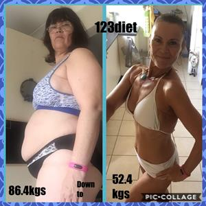123 DIET Success Story: Ana Reyes Shares Incredible Weight