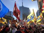1000+ Attend Labour Unity Rally in Support of Fairmont Royal York Hotel Workers.