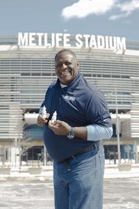 Leonard Marshall Former New York Giants Superbowl Champion at Metlife Stadium -2