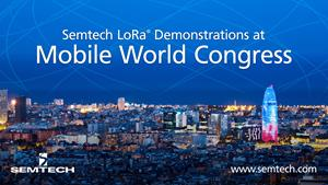 Semtech at MWC Barcelona 2018