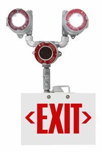 EXP-EMG-EXT-LE6-3L-V2 Explosion Proof Bug Eye Emergency LED Exit Fixture