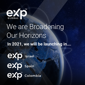 eXp Announces 3 New Locations for Second Quarter of 2021