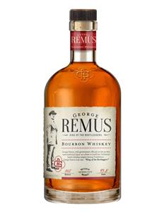 Photo of George Remus Bourbon Whiskey bottle