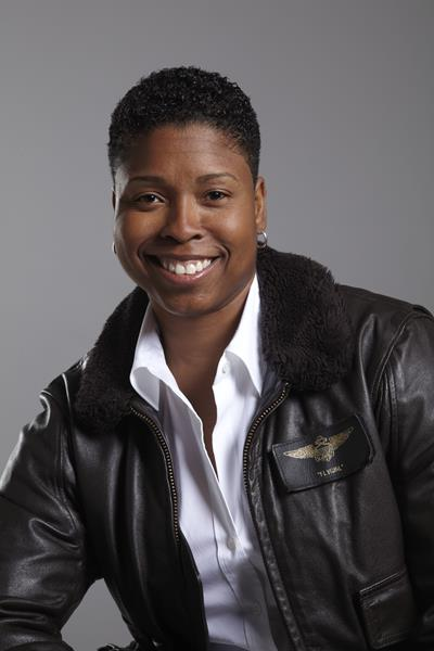 """Those attending UMA's Virtual Commencement will have the opportunity to hear a keynote address by Vernice """"FlyGirl"""" Armour, America's First African American Female Combat Pilot."""