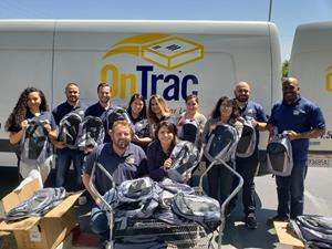 Local Schools Supported Through OnTrac Delivering Hope