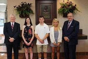 Old Line Bank Awards Scholarships to Four Local High School