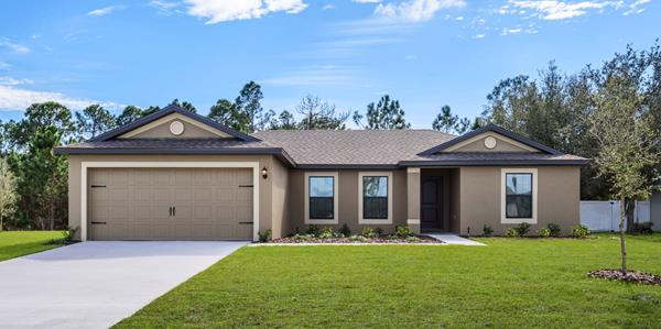 The Caladesi by LGI Homes will be available at the Palm Coast Grand Opening on Dec. 7, 2019.