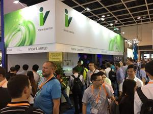 iView Limited in Hong Kong Electronics Fair 2016 (Autumn Edition