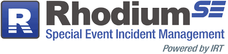 RhodiumSE is the premier solution for special event incident management and scales to any event type and size, from local to type 3.
