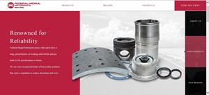 Federal Mogul Heavy Duty Parts Homepage Website.JPG