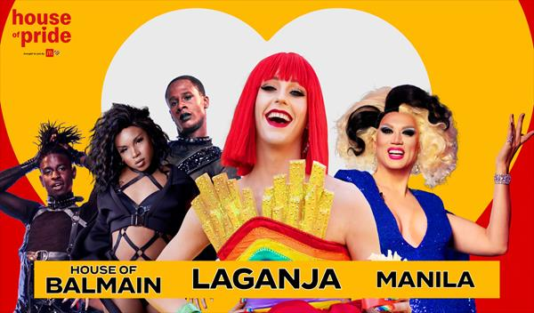 Performances from HBO Max's Legendary winners, the House of Balmain; RuPaul's Drag Race alum Laganja Estranja; and hosted by Manila Luzon