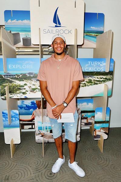 Seth Curry will be back in South Caicos soon, thanks to the gift from Sailrock Resort at the GBK Pre-ESPYS Luxury Lounge.