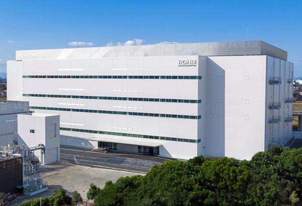 ROHM's New Environmentally Friendly Building at the Apollo Chikugo Plant Expands Production Capacity of SiC Power Devices