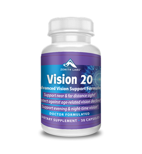 Zenith Lab's Vision 20 Reviews – Is the best supplement to treat your vision naturally? Find more about ingredients, side effects and capsules much more…