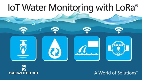 Semtech LoRa Technology Used by Trimble for IoT Water Monitoring Sensor Series