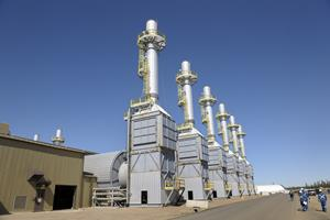 Steam generators at Cenovus's Foster Creek project in northern Alberta.