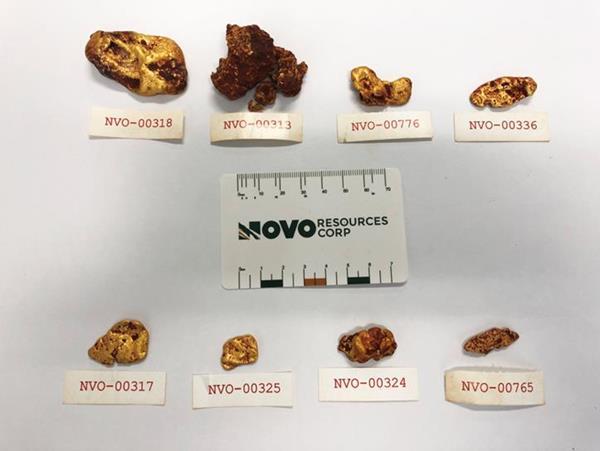 Novo's First Egina Trench Supports Exploration Model TSX