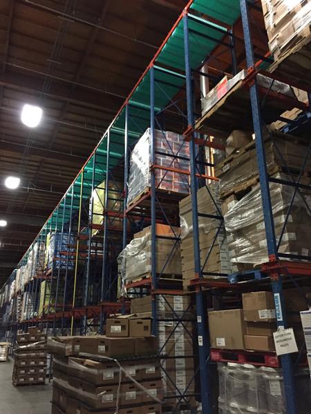 Warehouse w-TES installed
