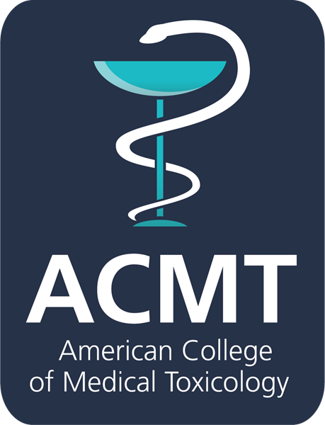 The American College of Medical Toxicology (ACMT) is a professional, nonprofit association of physicians with recognized expertise and board certification in medical toxicology. Our members specialize in the prevention, evaluation, treatment, and monitoring of injury and illness from exposures to drugs and chemicals, as well as biological and radiological agents. ACMT members work in clinical, academic, governmental, and public health settings, and provide poison control center leadership.