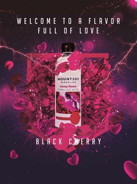 Black Cherry Mountjoy Sparkling CBD