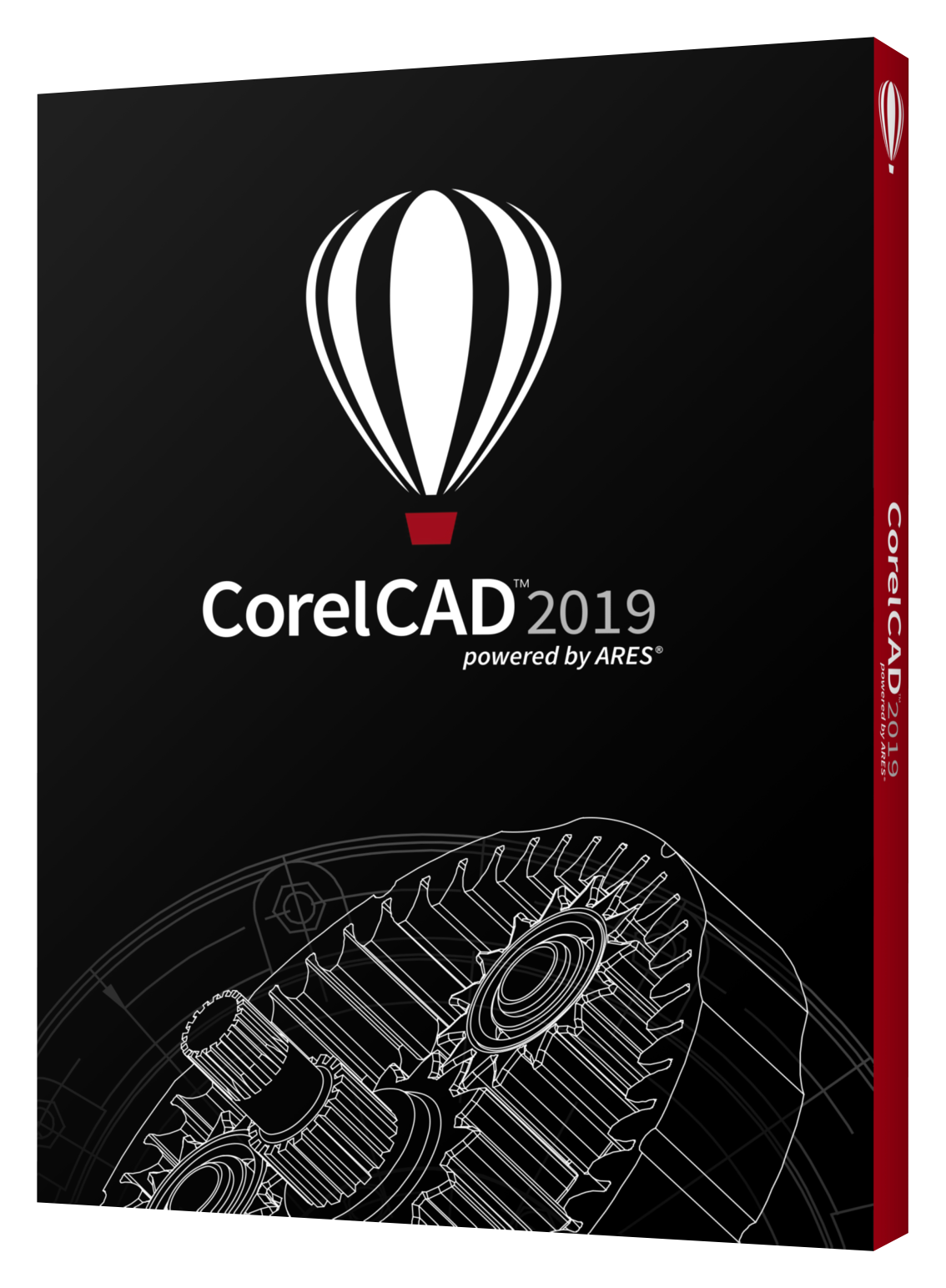 CorelCAD 2019 box shot