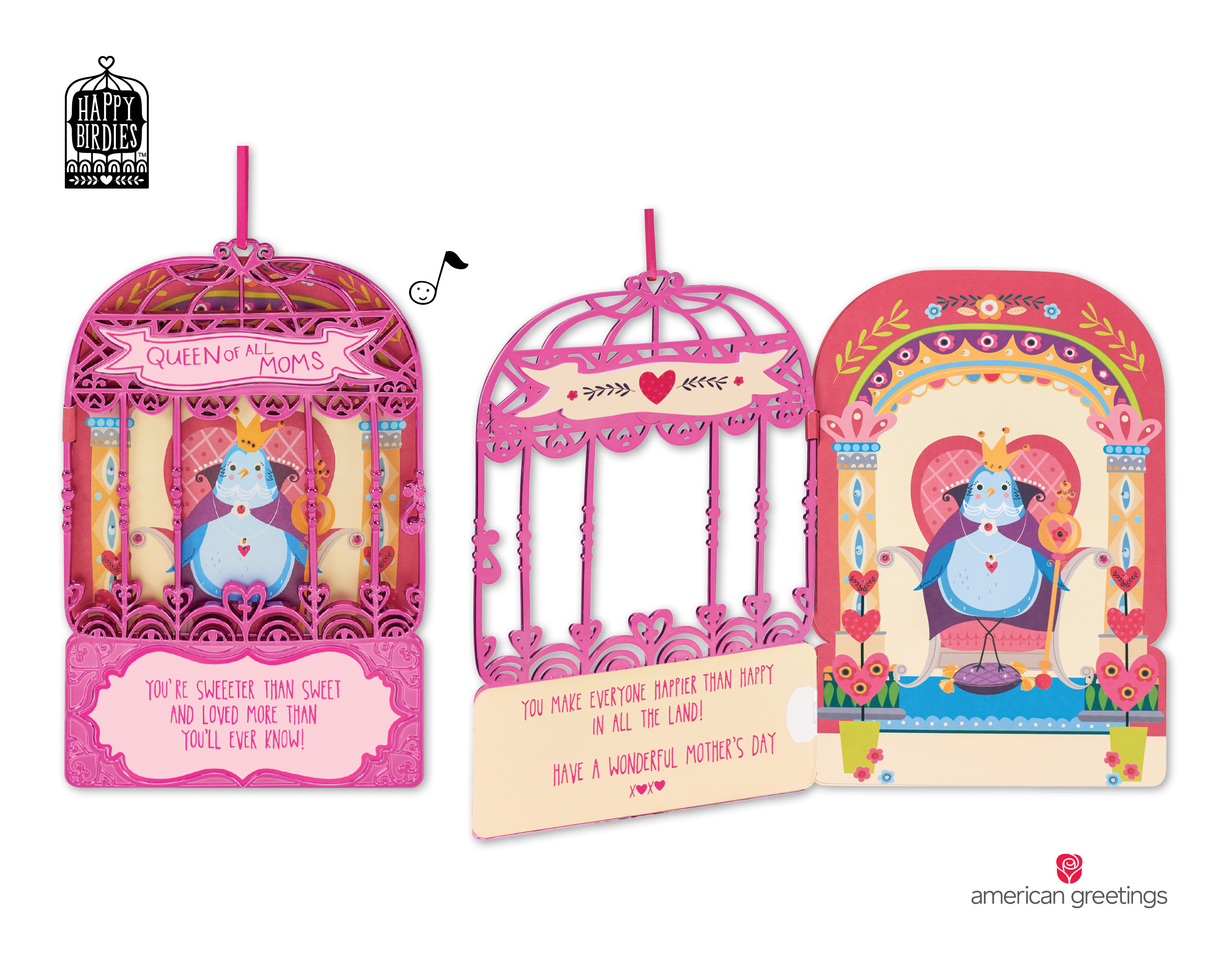 Sing Her Praises With New Happy Birdies Mothers Day Cards From